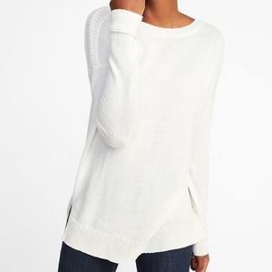 Cream tunic/sweater